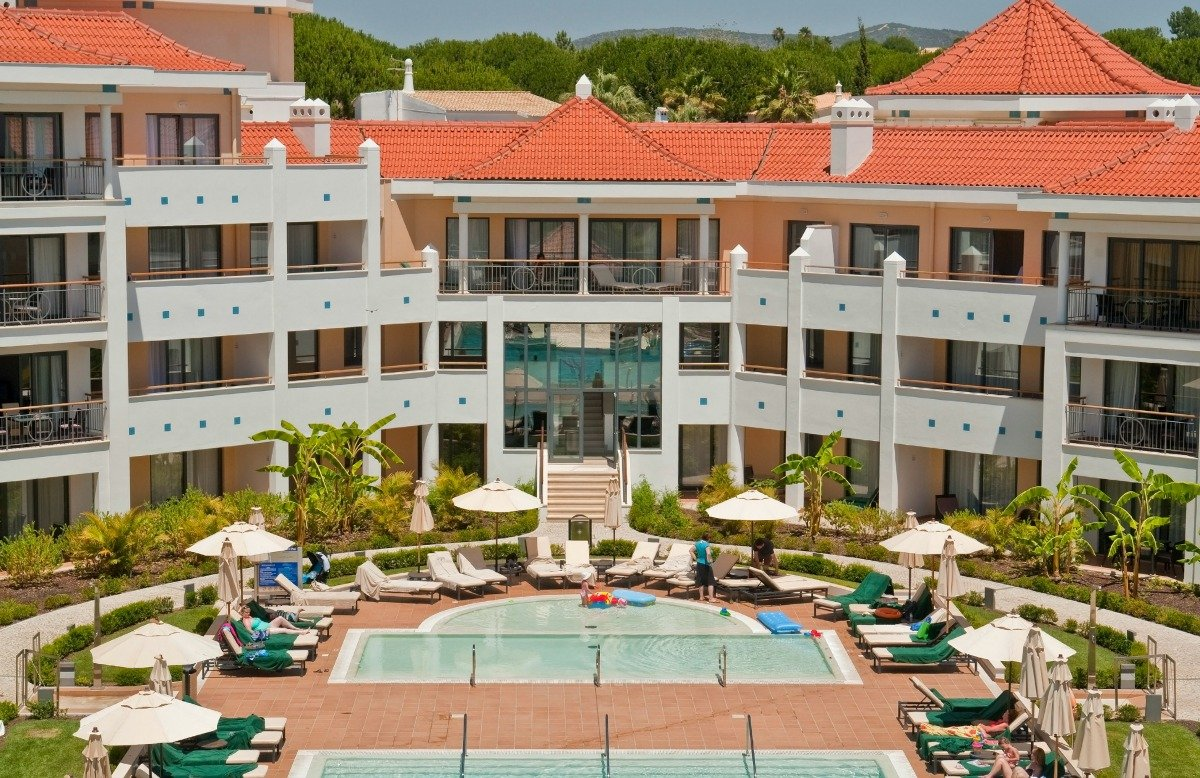 Fassade Hotel As Cascatas Golf Resort & Spa Vilamoura